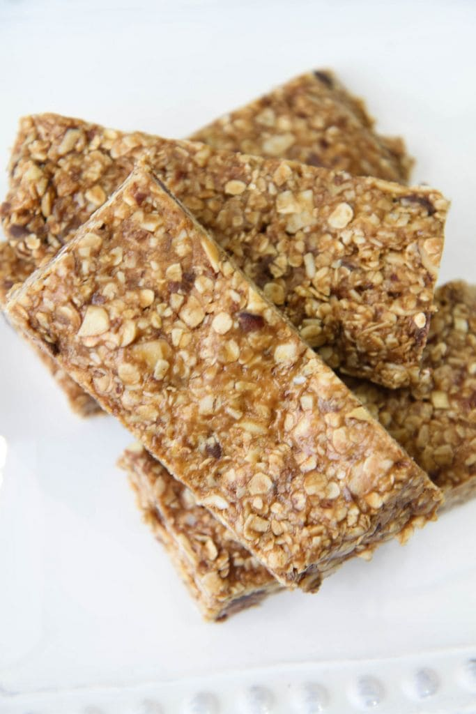 No-Bake Gluten-Free Granola Bars from MomAdvice.com