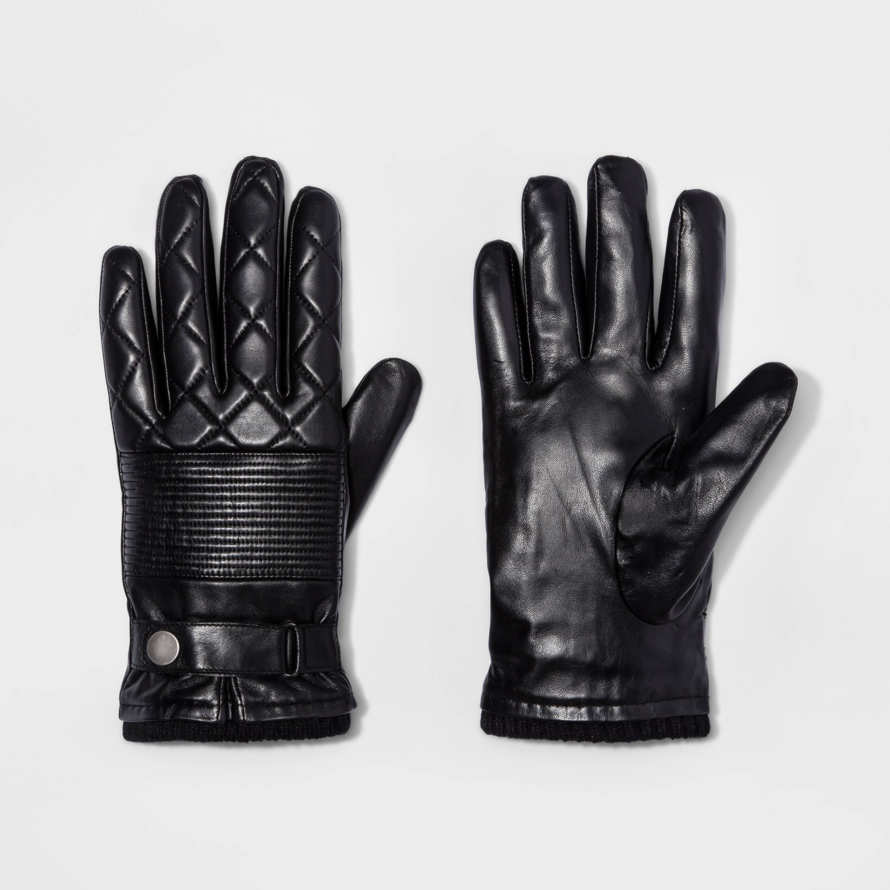 quilted gloves