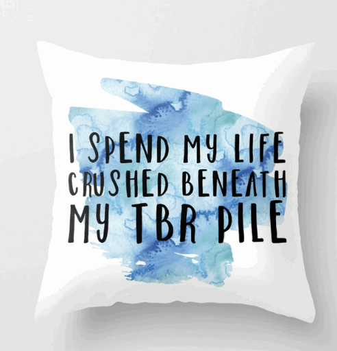 crushed by my tbr