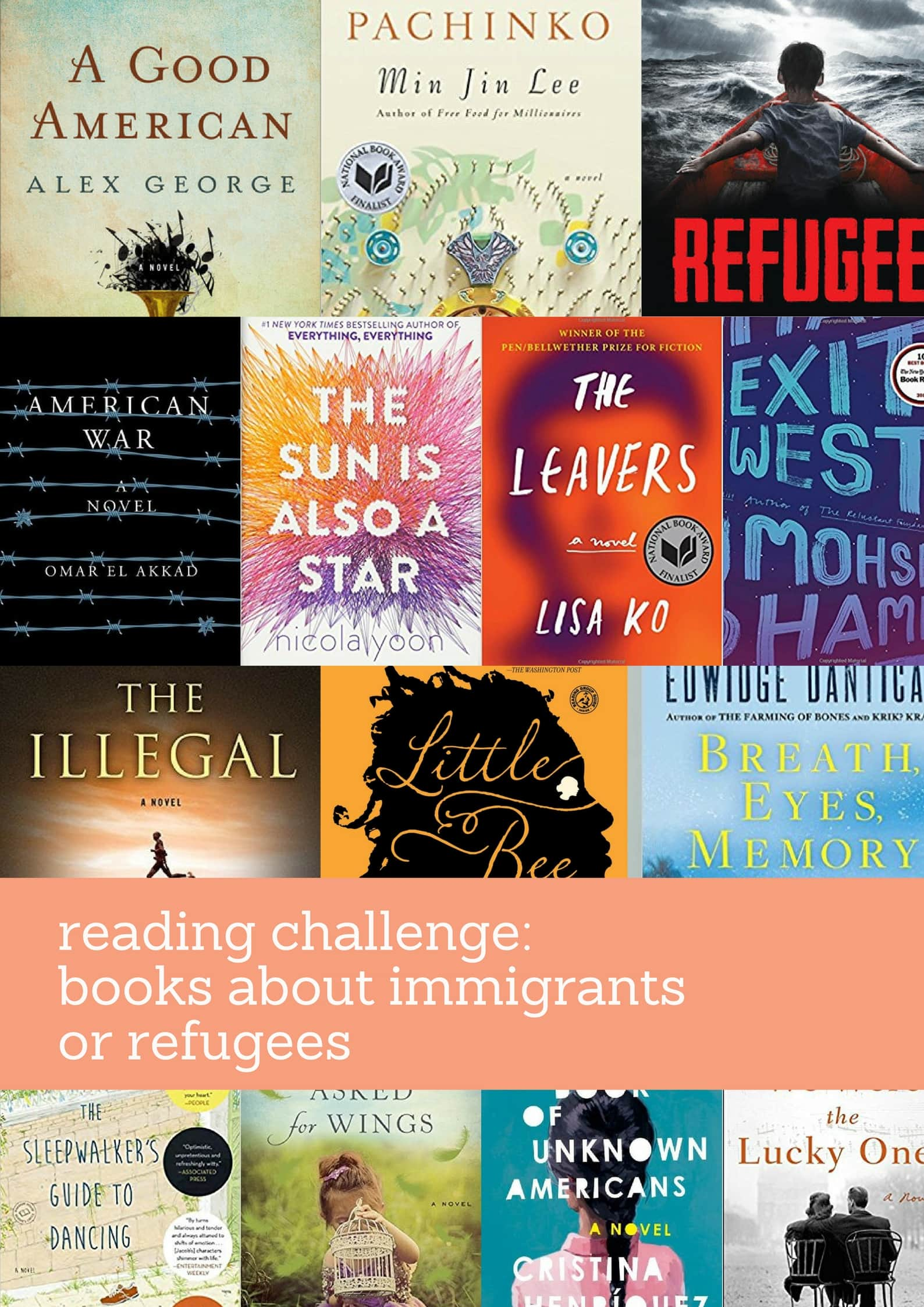 Books About Refugees or Immigrants from MomAdvice.com