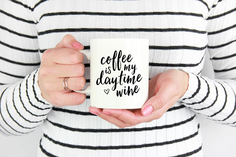 coffee is my daytime wine mug