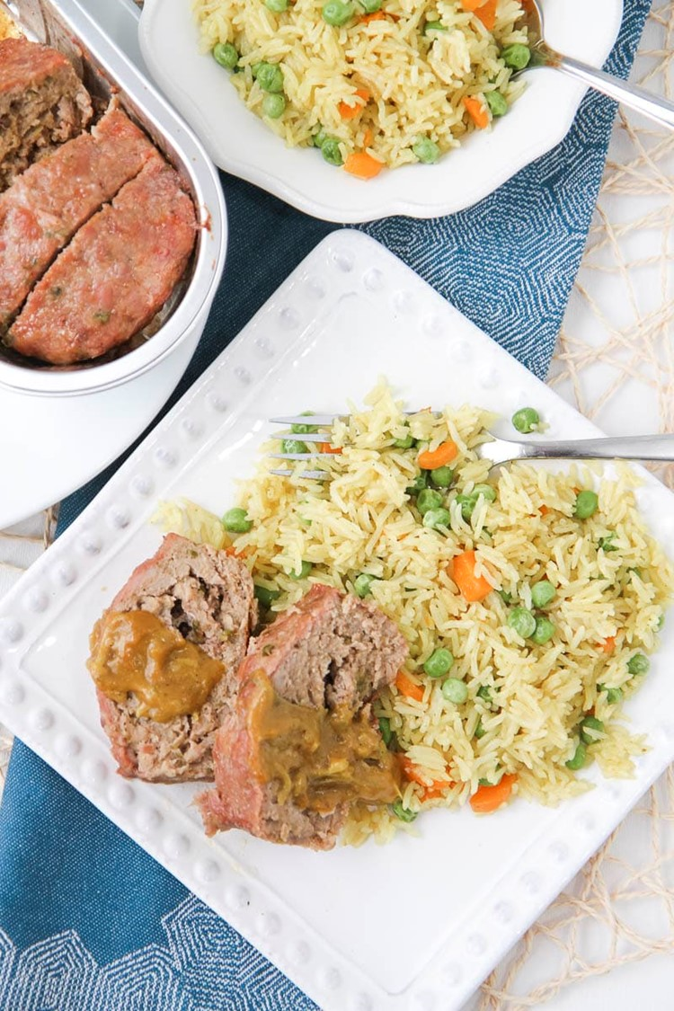 Instant Pot Indian Vegetable Rice from MomAdvice.com