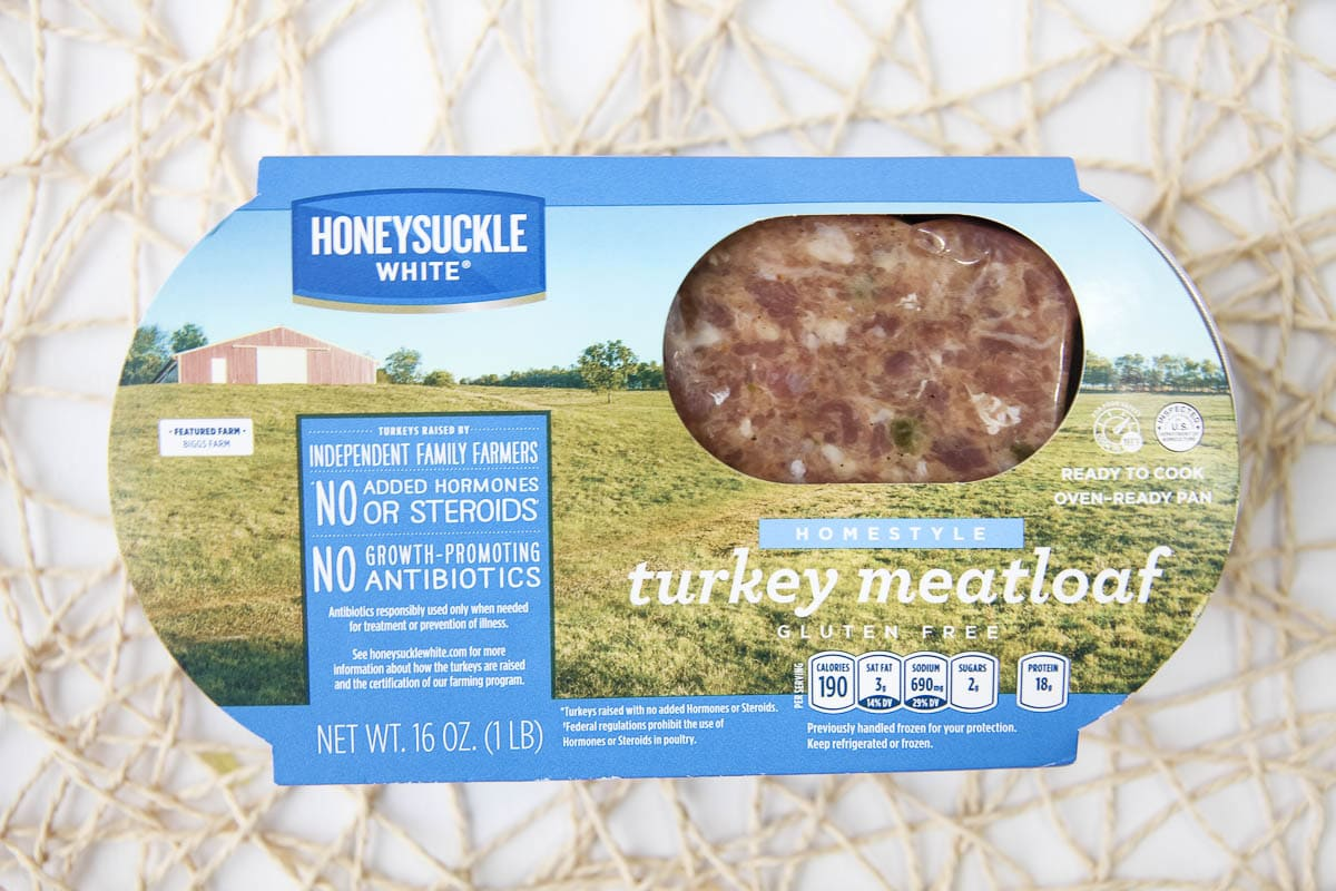 Honeysuckle Farms Turkey Meatloaf