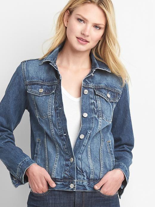 iconic jean jacket