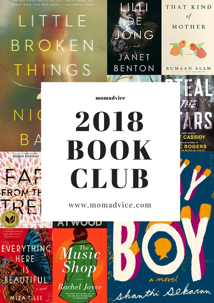 MomAdvice 2018 Book Club