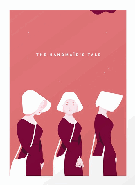 the handmaid's tale art print