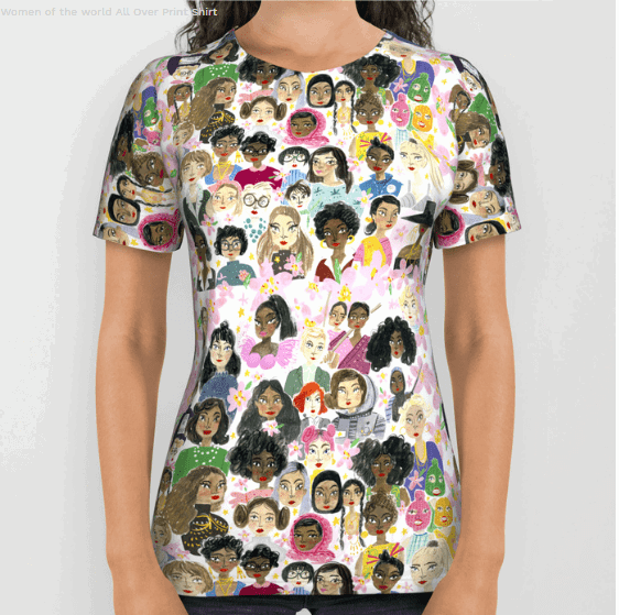 women of the world shirt