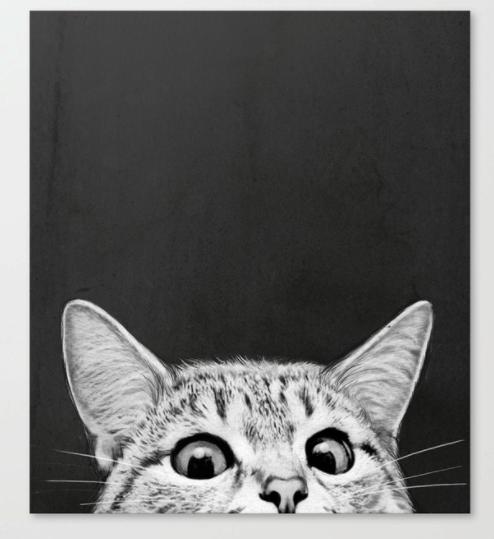 you asleep yet? canvas