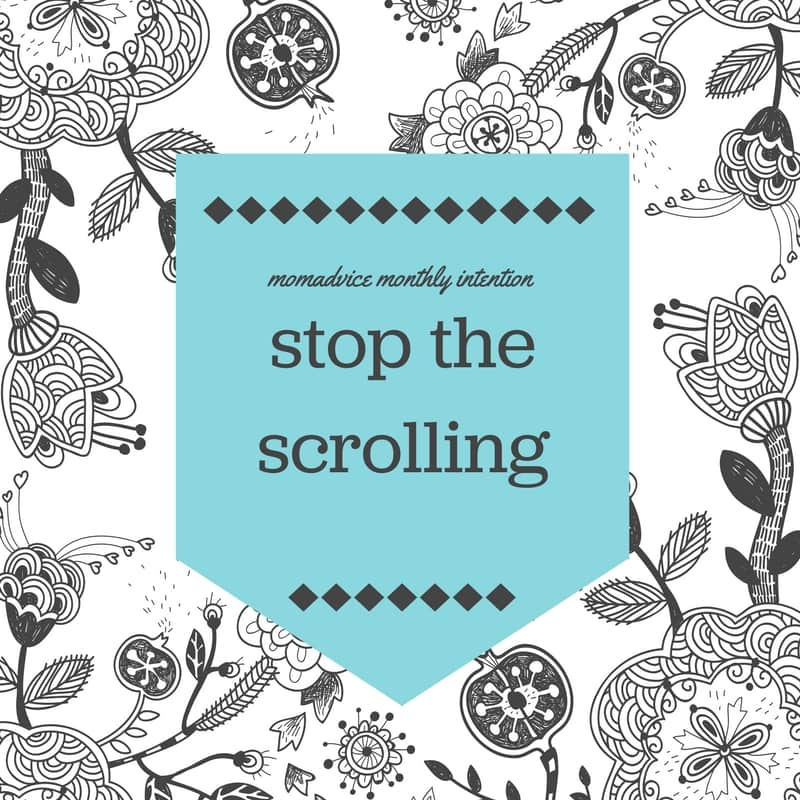 April Stop the Scrolling Challenge