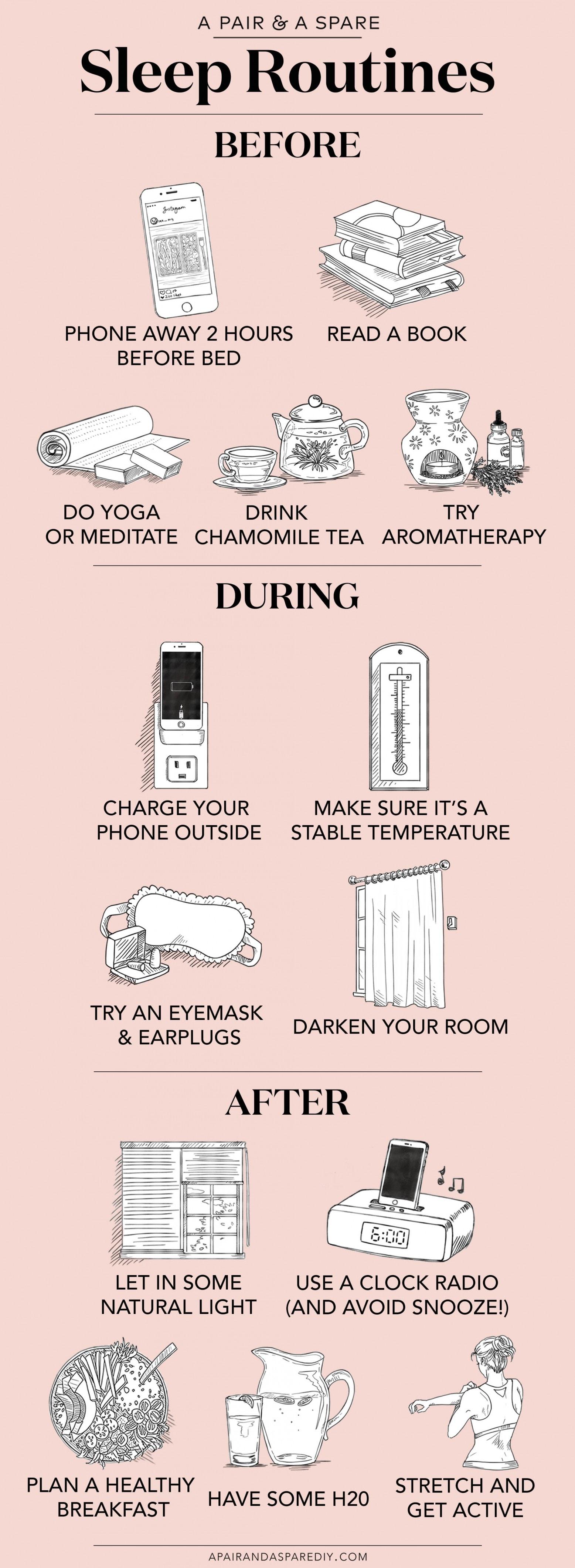 better sleep routines