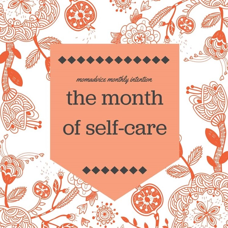 december self-care month from momadvice.com