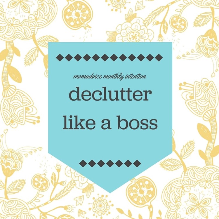 june declutter like a boss