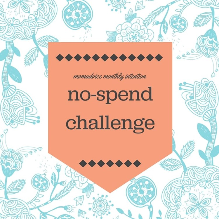 march no spend challenge