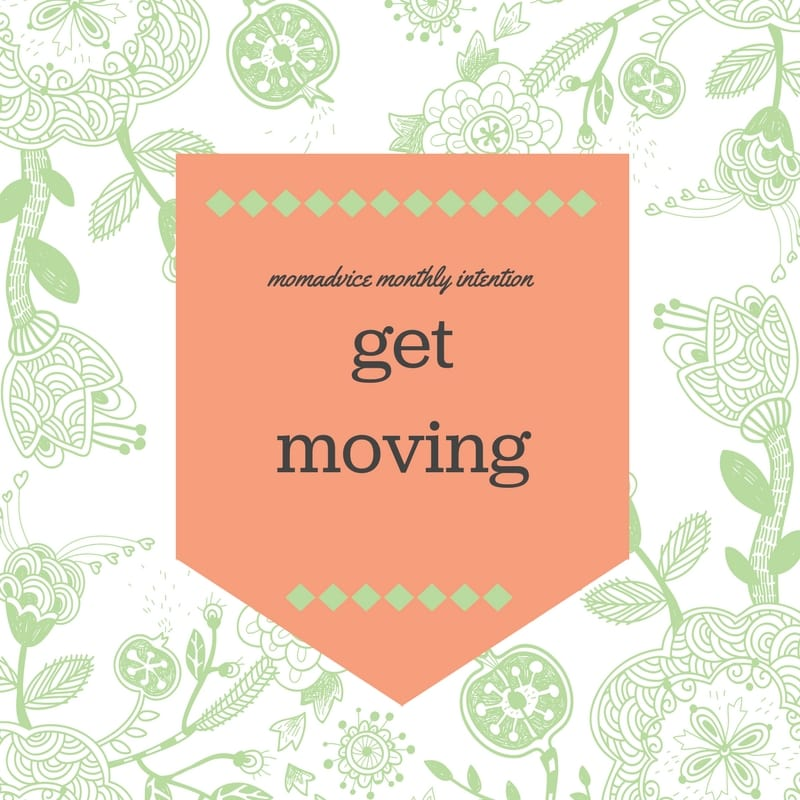 may get moving challenge from momadvice.com