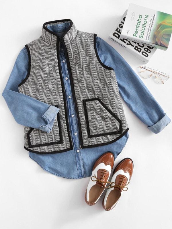 patch pocket vest