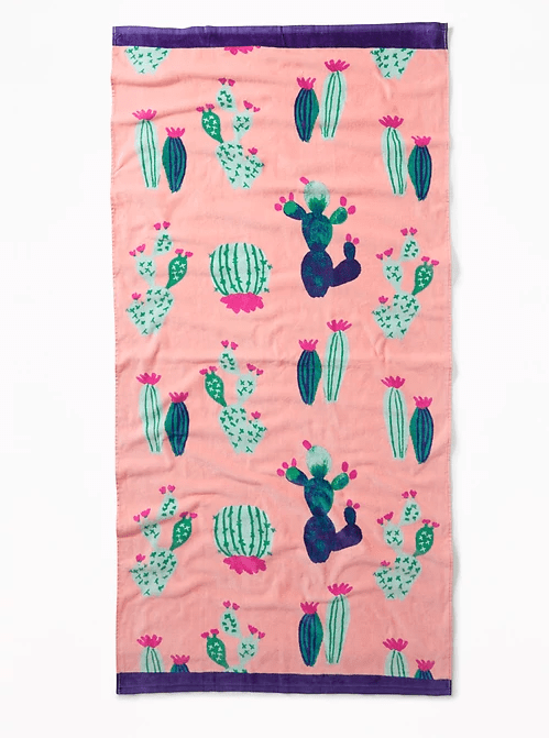 patterned beach towels