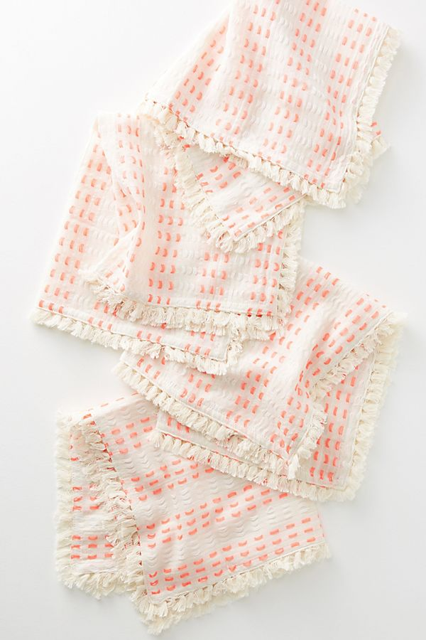 yarn-dyed napkin set