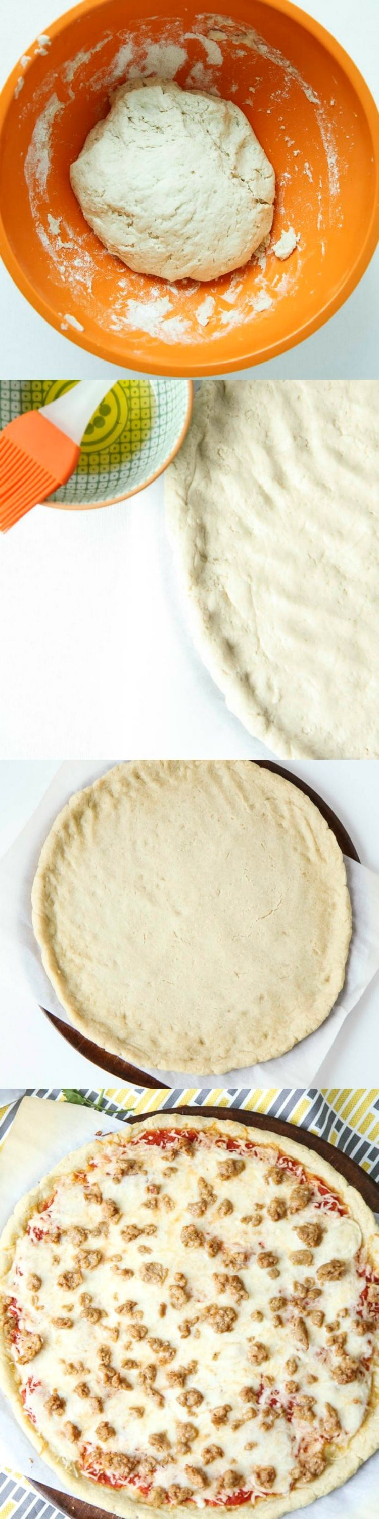 5-ingredient Gluten-Free Pizza Crust from MomAdvice.com