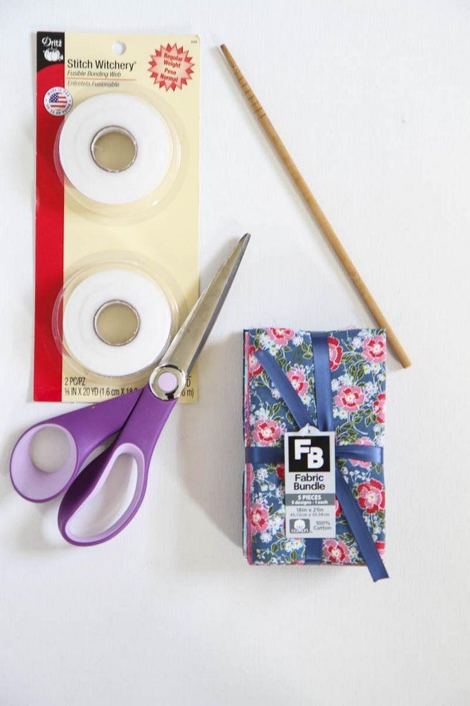 DIY No-Sew Reversible Cloth Napkins