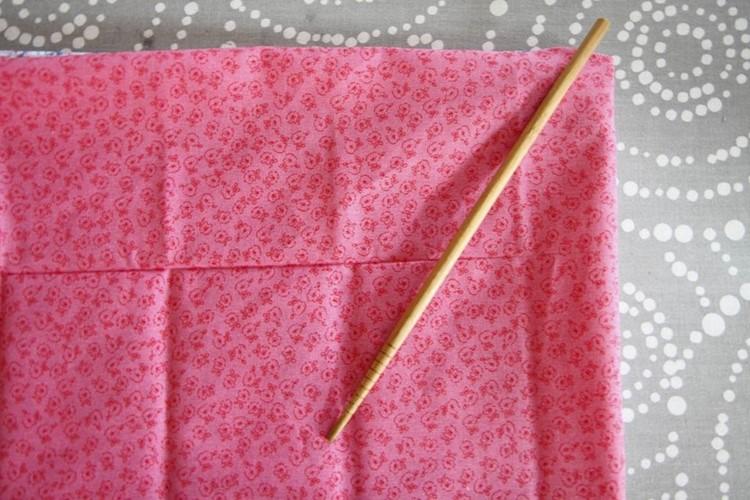 DIY No-Sew Reversible Cloth Napkins from MomAdvice.com