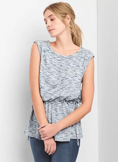 softspun sleeveless top