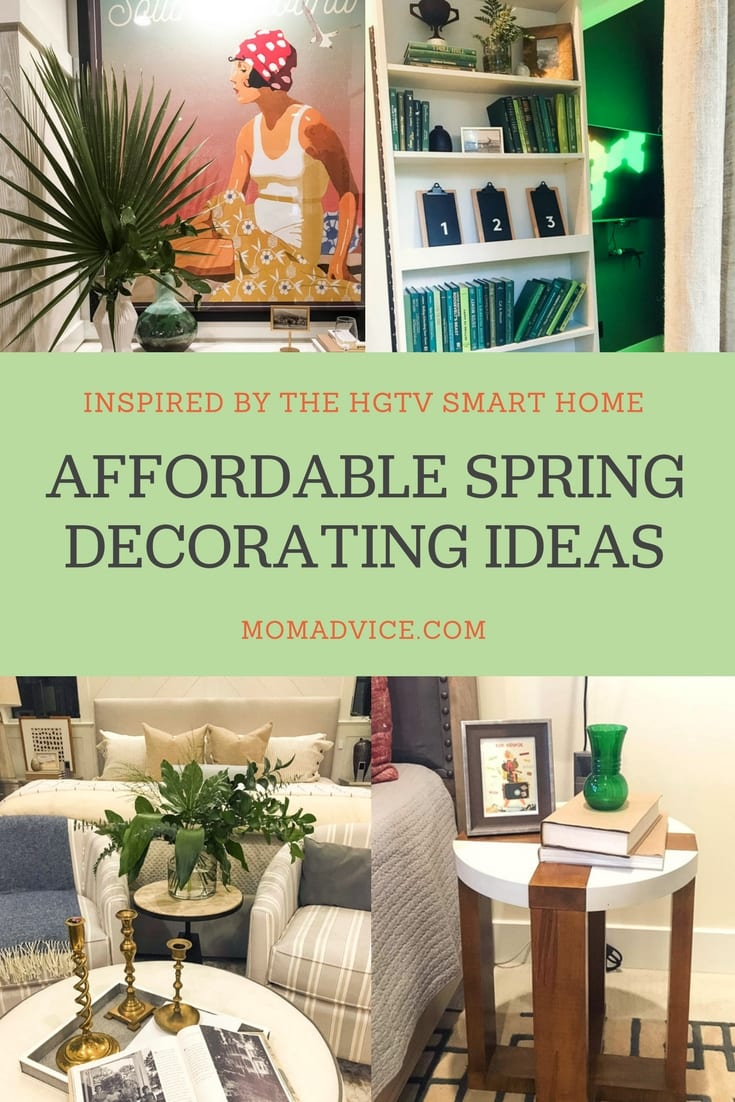 Affordable Spring Decorating Ideas from MomAdvice.com