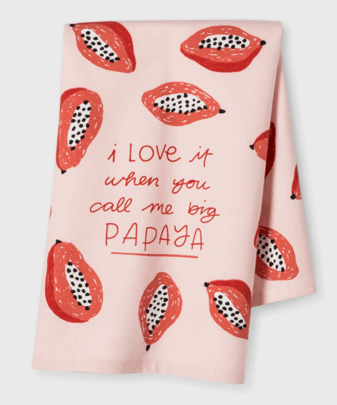 call me big papaya dishcloth