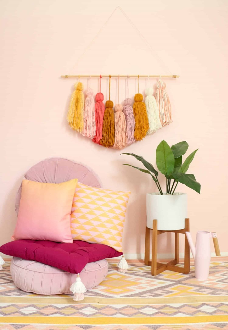 Giant Tassel Wall Hanging