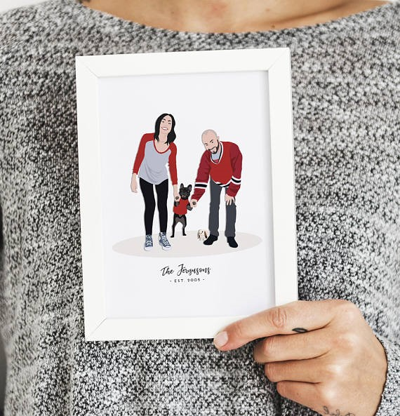 personalized mother's day print