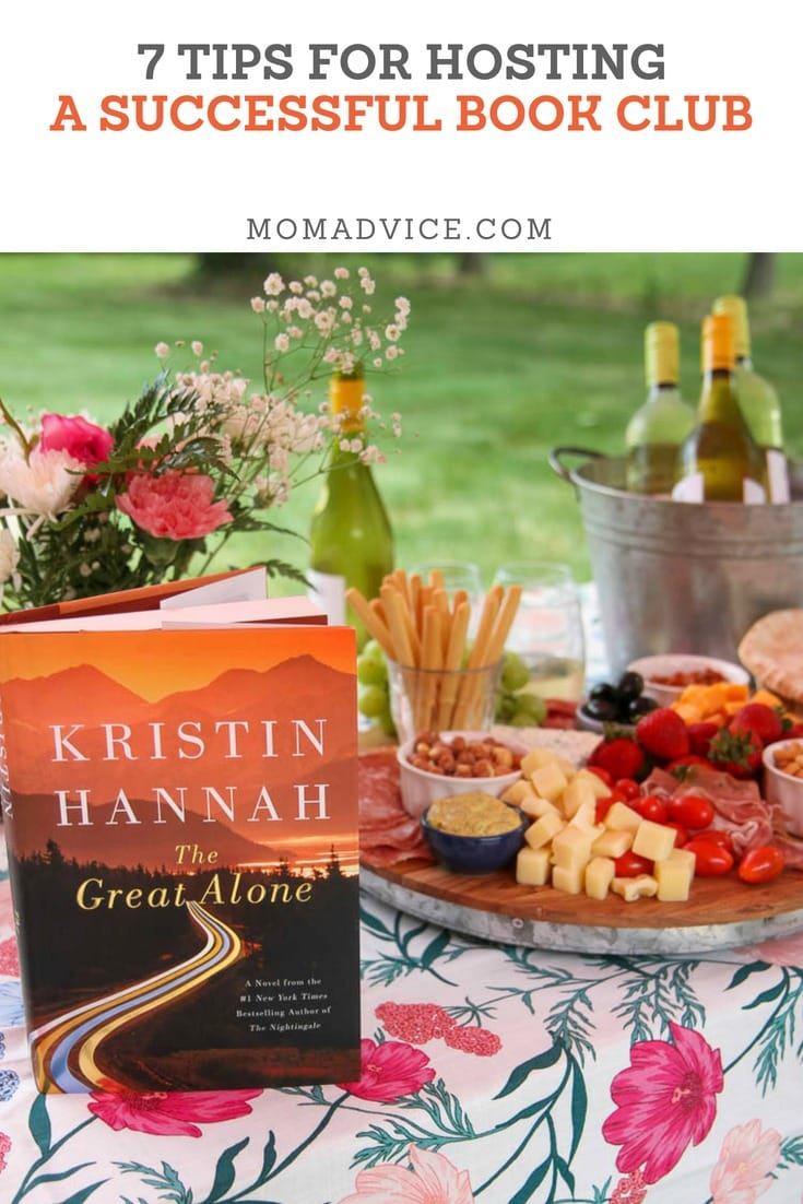 7 tips for a Successful Book Club from MomAdvice.com