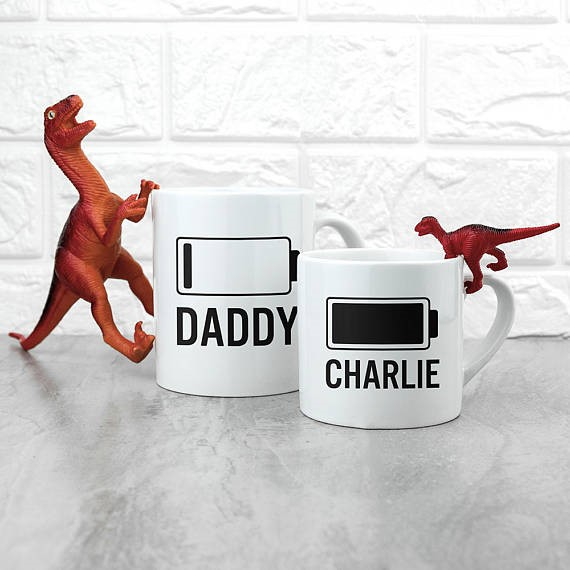 daddy and me mugs