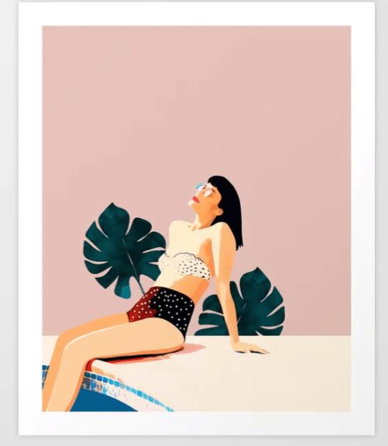 sunday art print