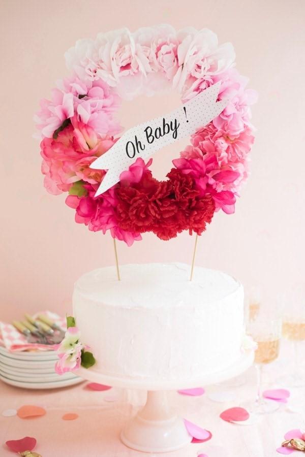 cake wreath