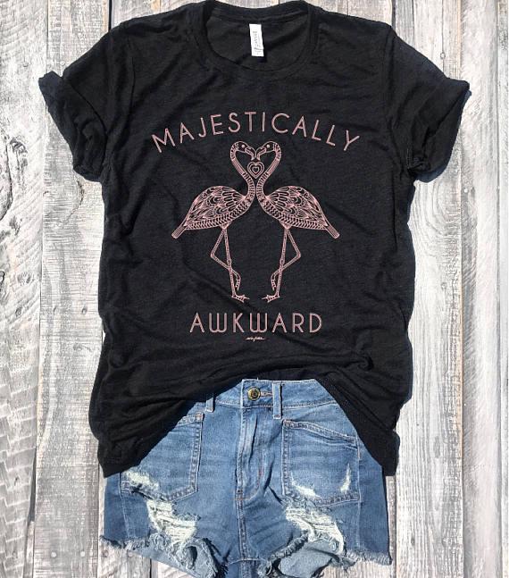 majestically awkward shirt