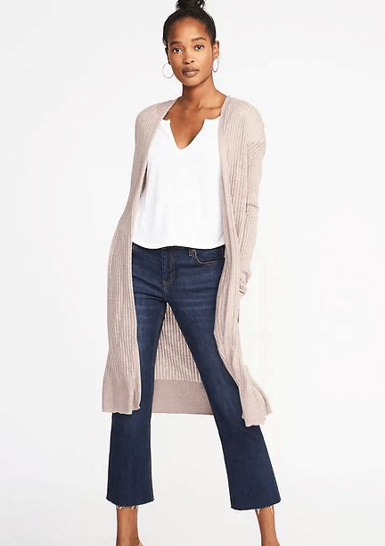open front duster cardigans