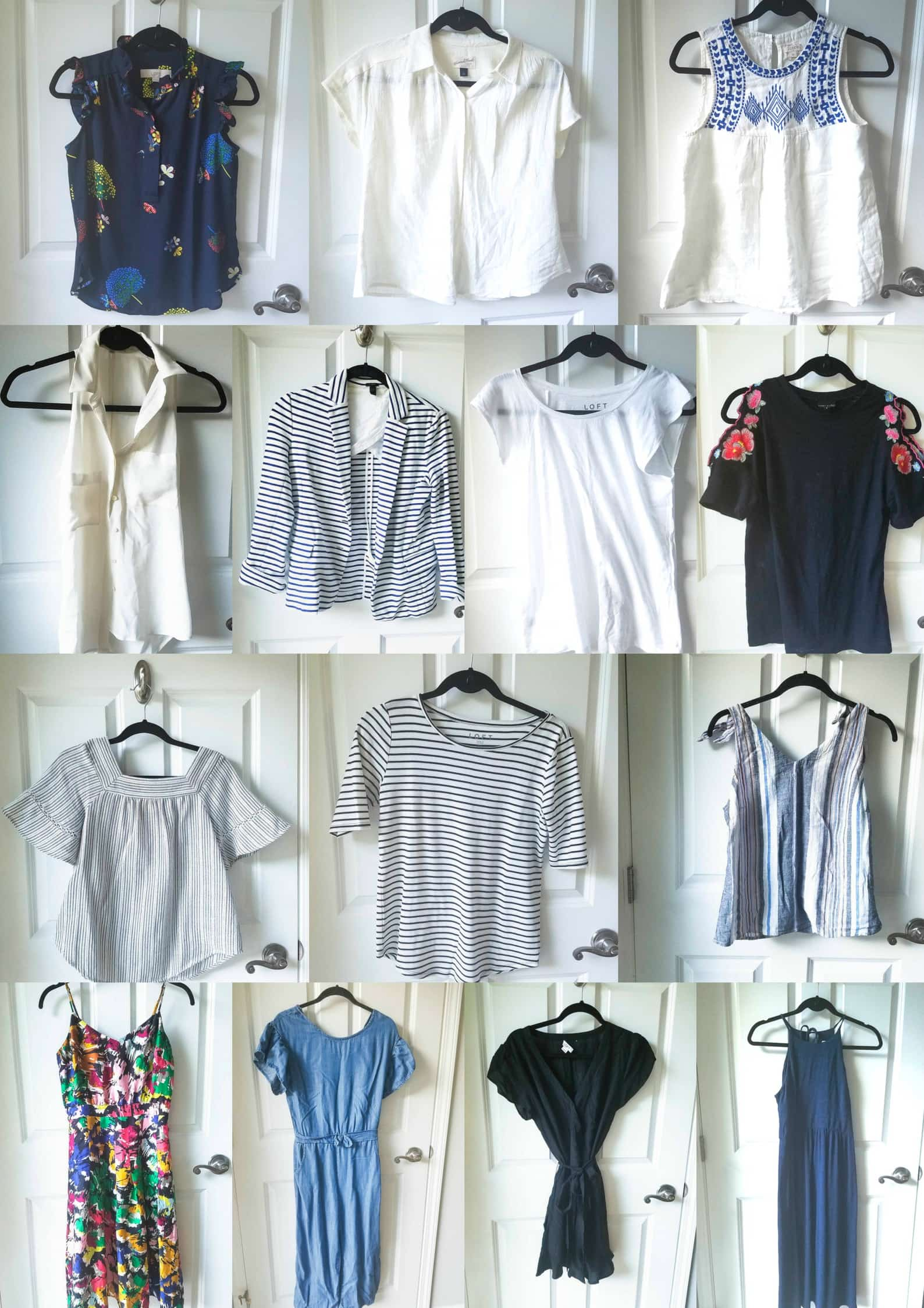 Summer 2018 Capsule Wardrobe from MomAdvice.com