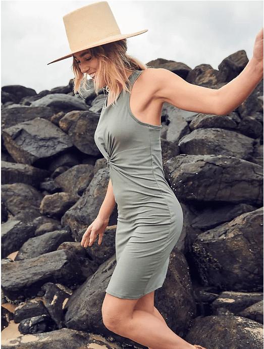 barre bralette dress