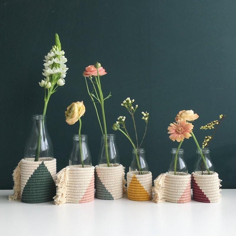 bottle vase covers