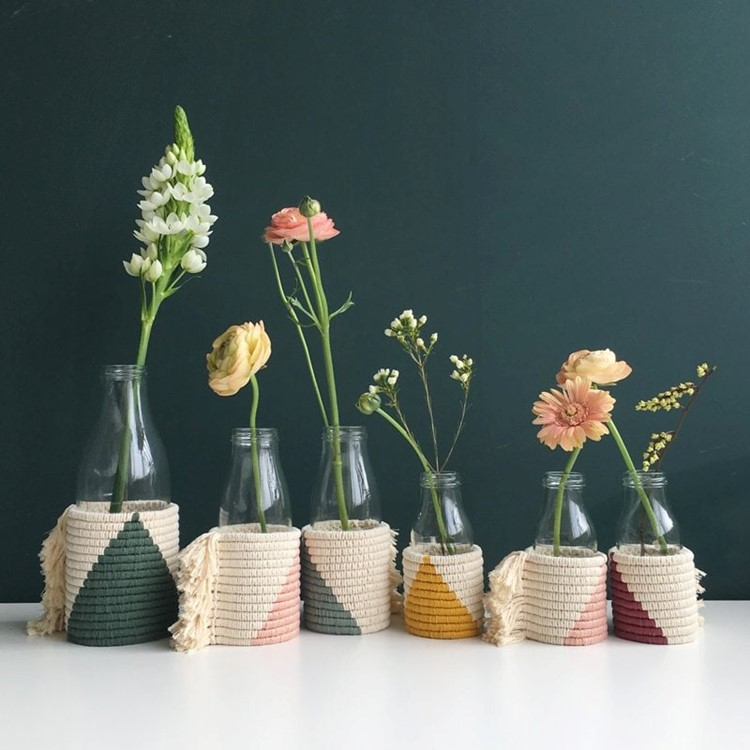 bottle vase covers
