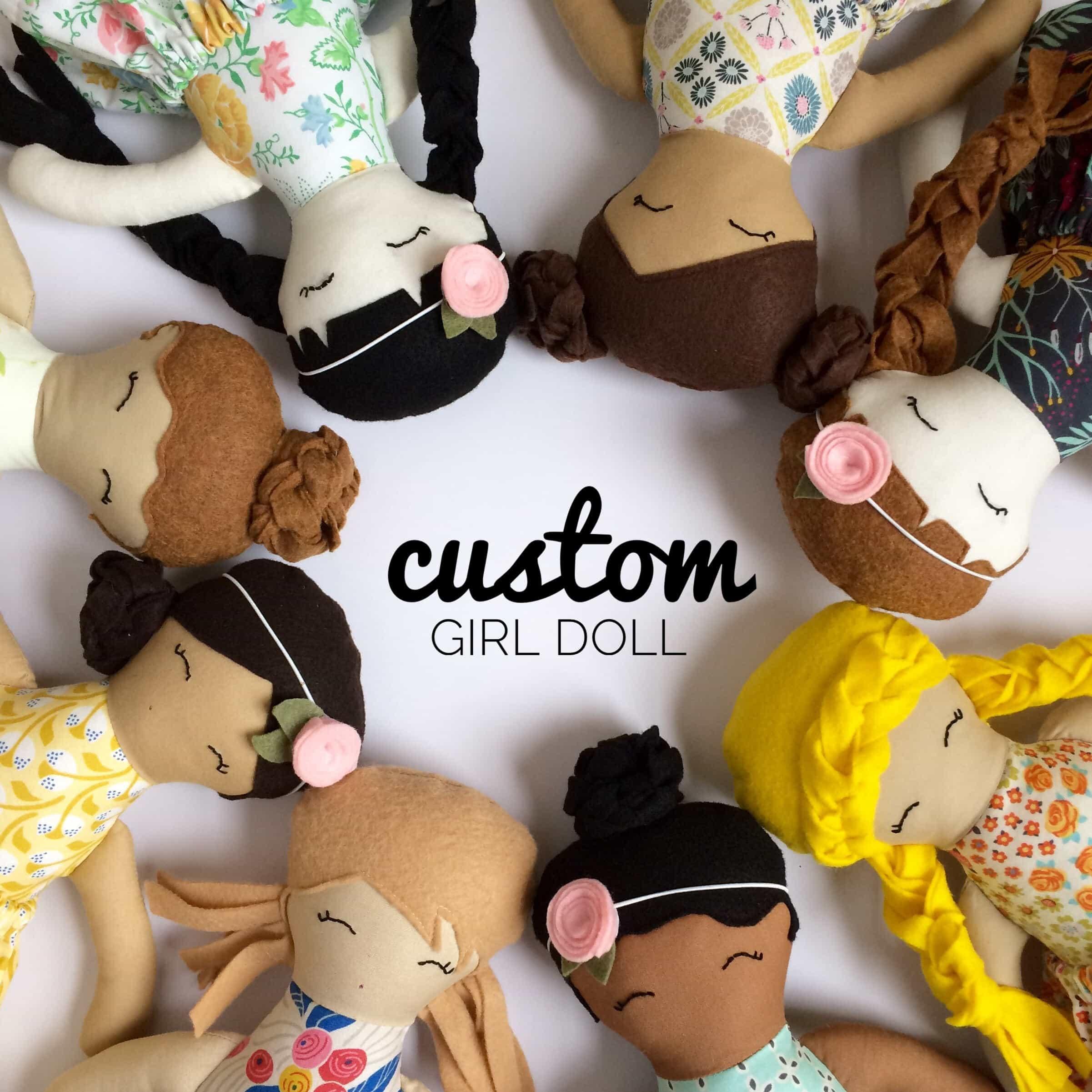 custom heirloom dolls