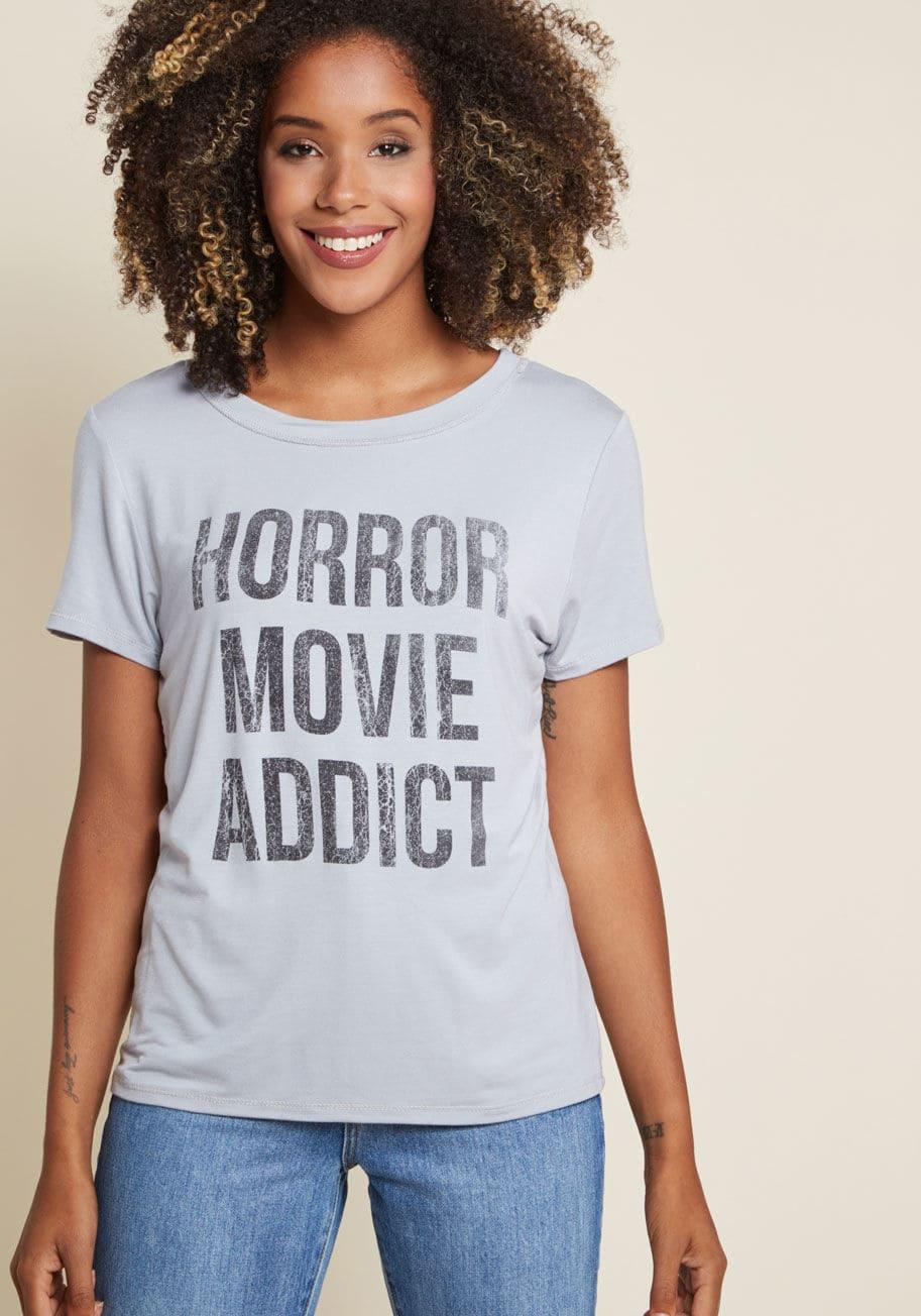 horror movie addict