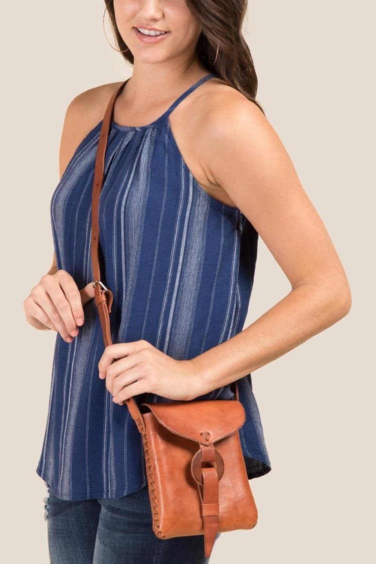 lupita leather crossbody