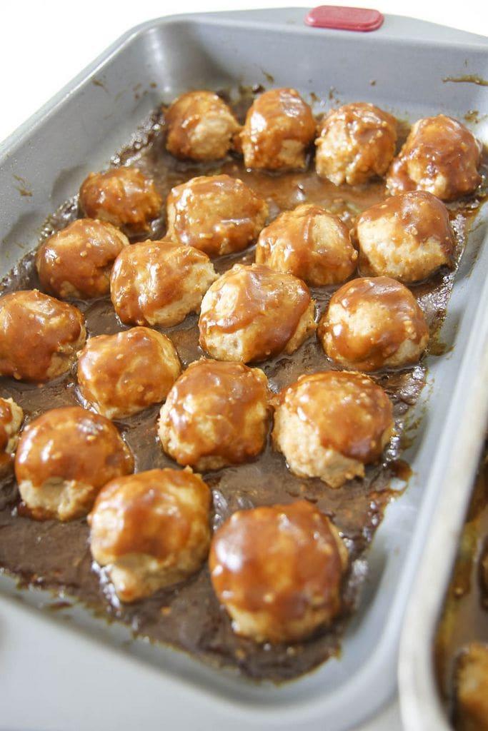 orange chicken meatballs from momadvice.com