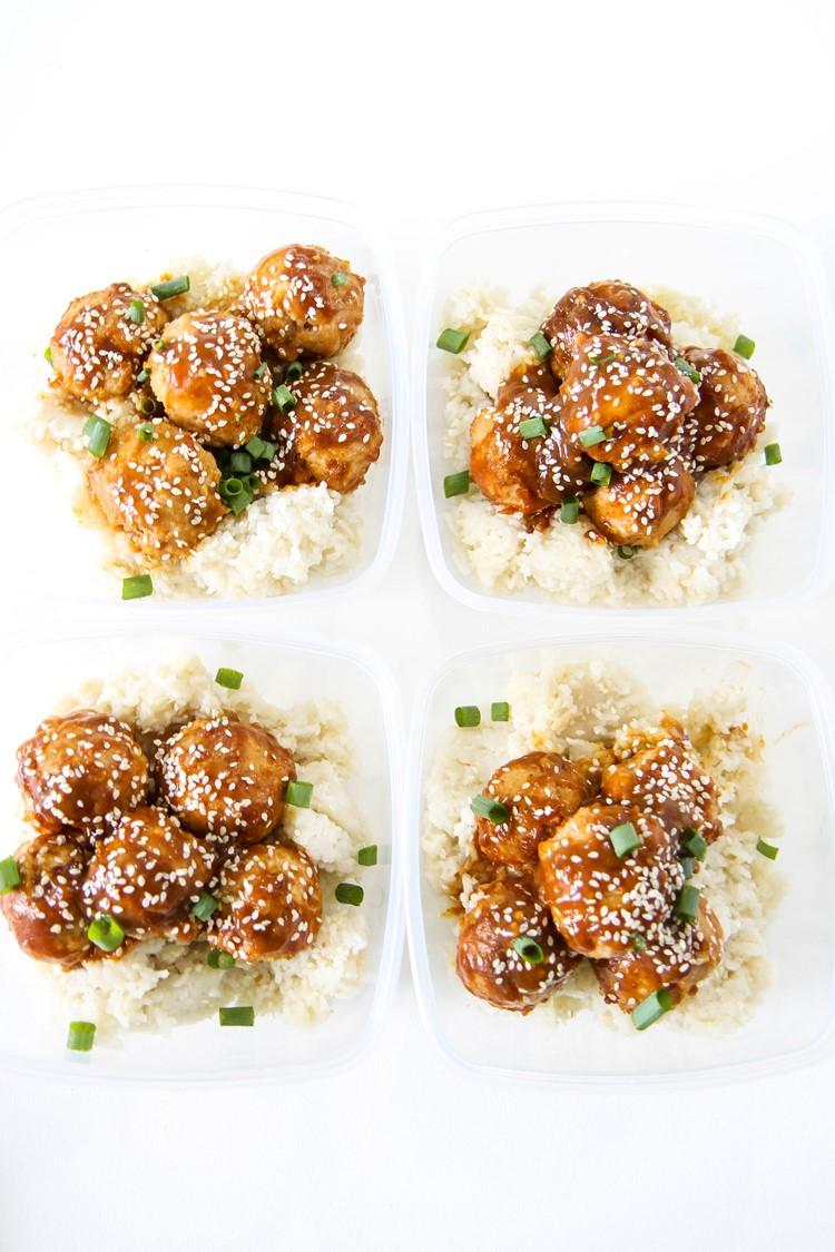 orange chicken meatballs recipe from momadvice.com
