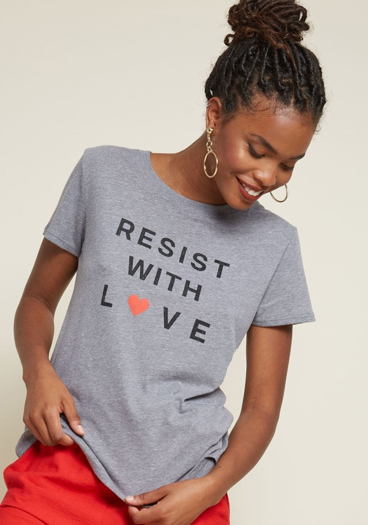 resist with love
