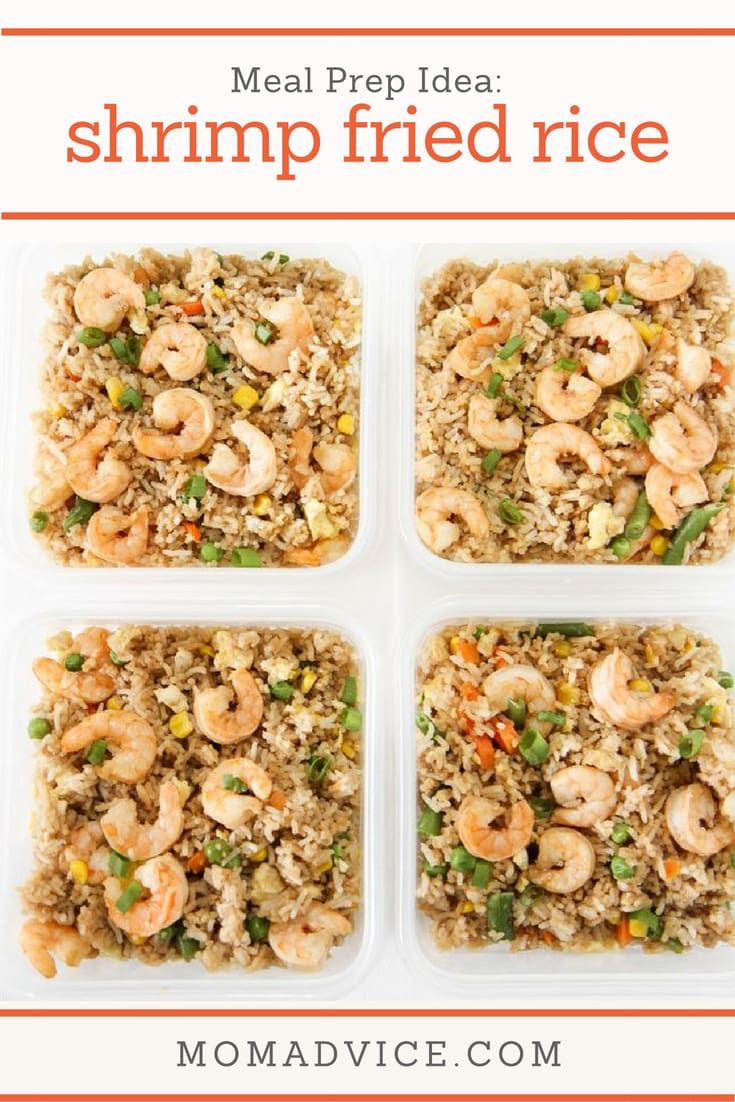 Shrimp Fried Rice from MomAdvice.com