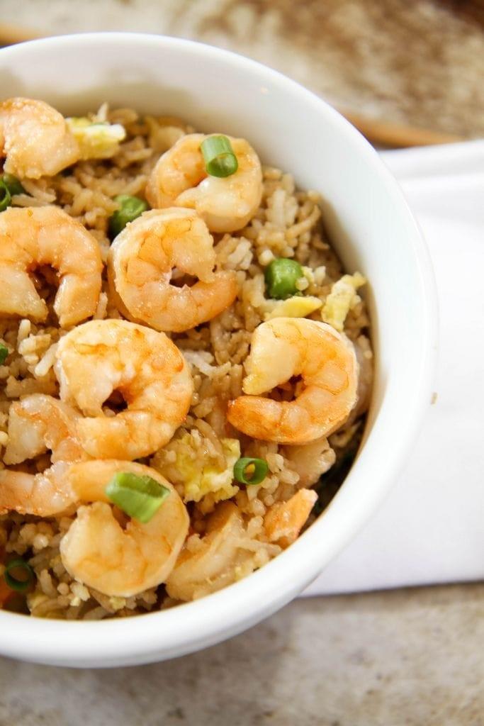 Shrimp Fried Rice Recipe from MomAdvice.com
