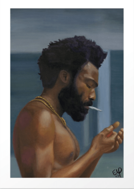 this is america print