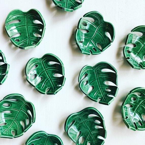 leaf ring dish