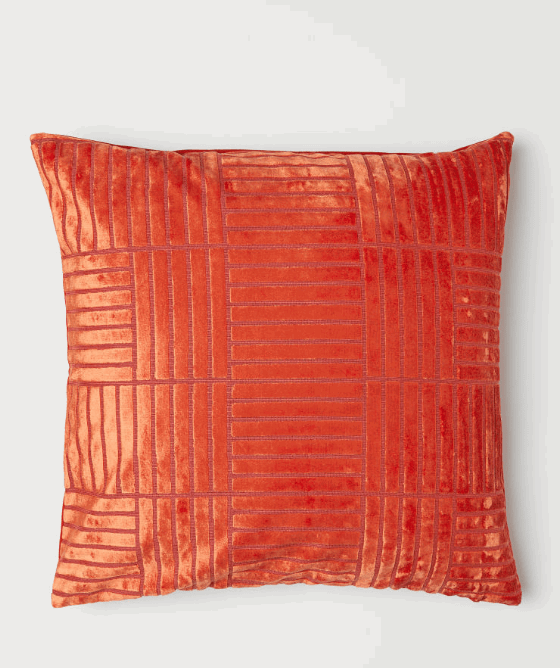 patterned cushion covers